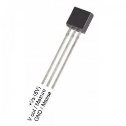 Czujnik temperatury LM35DZ - analogowy