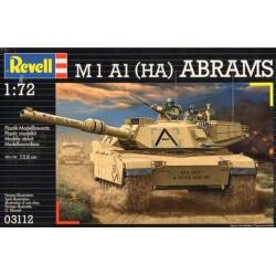 M1 A1 ABRAMS 1:72 - REVELL - 03112 - Czołg