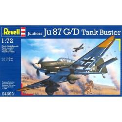 JU-87 G/D TANK 1:72 - REVELL - 04692 - Samolot