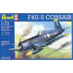 F4U-5 CORASAIR 1:72 - REVELL - 04143 - Samolot