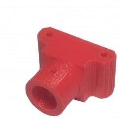 Mocowanie rurki 12mm - multikoptery - czerwone