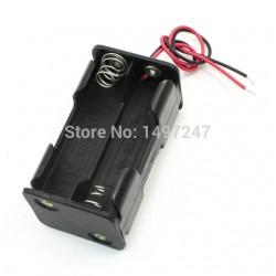 Koszyczek na baterie - 4x AA - z przewodem