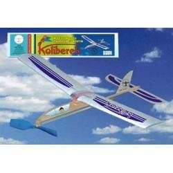 KOLIBEREK - samolot z napędem gumowym