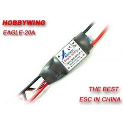 Regulator HobbyWing Eagle-20A - do silników szczotkowych