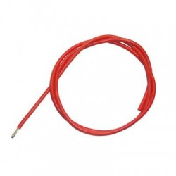Przewód silikonowy 12AWG/3,31mm2 (czerwony) 1m