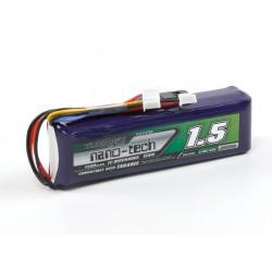 1500mAh 9,9V LiFe Turnigy Nano-tech - TX nadajnikowy