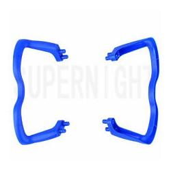 Płozy - Syma X5 - niebieskie