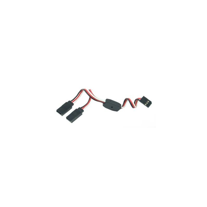 Y - kabel rozgałęziacz Futaba 30cm 26AWG prosty - RC-PLANETA - Sklep ...