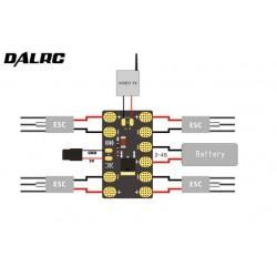 Płytka zasilająca ESC - mini DALRC 50A + BEC 5V/3A