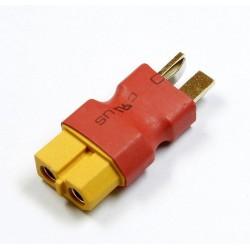 Wtyki DEAN (męskie)- XT60 (żeńskie) - krótkie - do akumulatorów