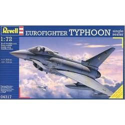 Eurofighter Typhoon single seater - Revell - 04317 - Samolot