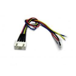 Gniazdo balancera XH 4S z przewodem - Złącze balancera 5 Pinów