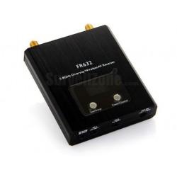 Odbiornik AV 5.8 GHz - Diversity FR632 -  40CH - dwa odbiorniki w jednym