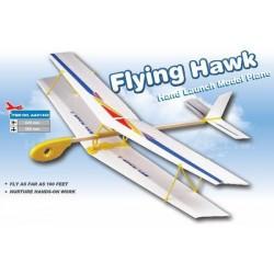 Szybowiec rzutka Flying Hawk II 420mm - samolot dwupłatowy rzutek
