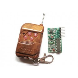 Moduł radiowy - Pilot 4-kanały 315 MHz - zasięg 300m - 2262:2272 M4