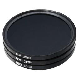 Filtr ND8 - 37mm - filtr szary