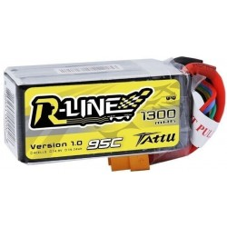 Akumulator 1300mAh 14.8V 95C TATTU R-Line Gens Ace