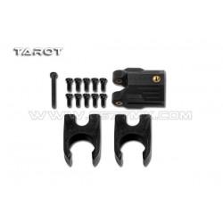 Blokada ramion 16mm - TAROT TL68B27 - czarne - wersja kompletna (zamki i zawias) - do FY650 i FY680