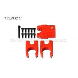 Blokada ramion 16mm - TAROT TL68B28 - czerwone - wersja kompletna (zamki i zawias) - do FY650 i FY68
