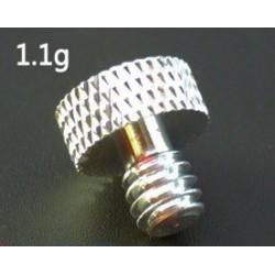 Śruba do przykręcania aparatu foto - 1/4 cala x 10mm - Aluminium - GoPro