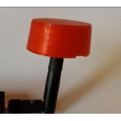 Osłonka na antenę FPV - koniczynka 5.8Ghz - grzybek - czerwone PET