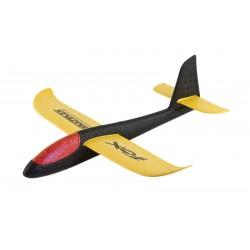 Szybowiec rzutka Fox - rzutek dla dzieci - (czarno-żółto-czerwony)