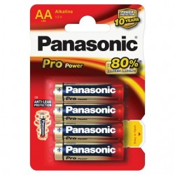Baterie Panasonic AA - 4 szt