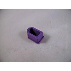 Osłonka na wtyk XT60 - fioletowa - Zabezpieczenie złącza