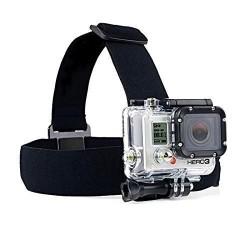 Opaska na głowę do GoPro Hero, SJCAM - uchwyt na kask