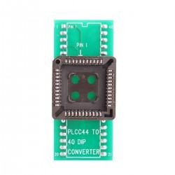 Konwerter - Przejściówka adapter PLCC44 na DIP40