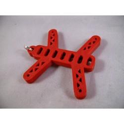 Bryloczek - QAV 35mm - czerwony - do kluczy