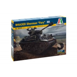 "Italeri 6529 M4A3E8 SHERMAN ""FURY"""