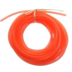 Przewód paliwowy 2.5mm / 5.3mm - 0,5m - czerwony