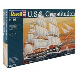 U.S.S. Constitution - REVELL - 05472 - Żaglowiec