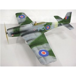 Model ESA - P-51 Mk III Mustang - 800mm - NPN - Aircombat RC