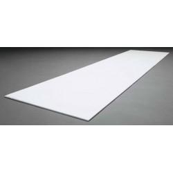 Biała płyta depronowa 1194 x 292 x 6 mm - Electrifly