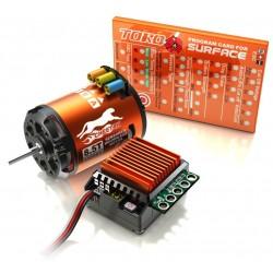 Zestaw SkyRC Cheetah 1/10 + Regulator ESC 60A + Silnik 17.5T + Karta Programująca