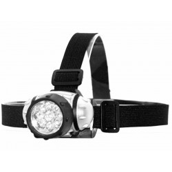 Latarka Czołowa 9 LED - 9-diodowa Lampa LED