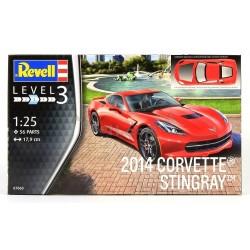 Corvette Stingray 2014 - Revell - 07060 - Samochód