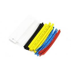 Zestaw 36 szt rurek termokurczliwych - kolor - 1,5 do 18mm - rurka termokurczliwa