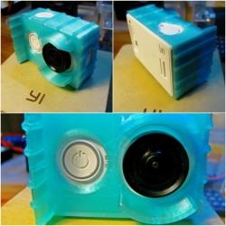 Osłonka na kamerę Xiaomi Yi - błękitna