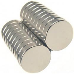 Magnes 6x2,5mm walcowy N38 - neodymowy