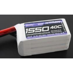 Li-Po 1550mAh 14,8V 40/80C SLS XTRON