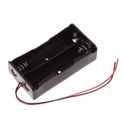 Koszyczek na akumulatory Li-ion - 2x 18650