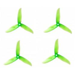 Śmigła DAL CYCLONE T5046C - Crystal Green - Tri-blade - 5x4,6x3 - 2xCW/2xCCW - DAL-PROP