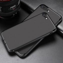 Etui silikonowe - IPhone 7 - case - czarny