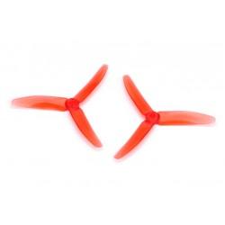 Śmigła DYS 5040 3-blades - Crystal Red - 5x4x3 - 2 szt XT50403