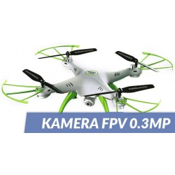 Syma X5HW (kamera FPV 0.3MP, 2.4GHz, funkcja zawisu, zasięg do 50m)