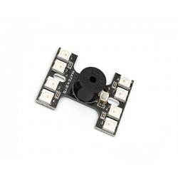 Oświetlenie drona LED MATEK LOUD BUZZER - 8x WS2812B + Buzzer