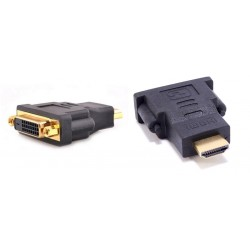 Adapter HDMI (męski) do DVI-D (żeński)
